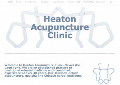 Heaton Acupuncture Clinic Website