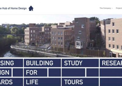 Design For Homes Website And Animated Logo